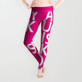 Lady Luck - Tongue Twisters Leggings