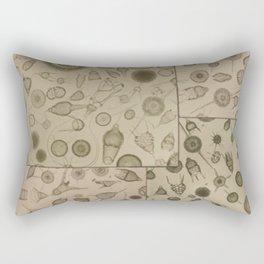 Diatom Design Rectangular Pillow