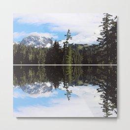 Backcountry Peaks Metal Print