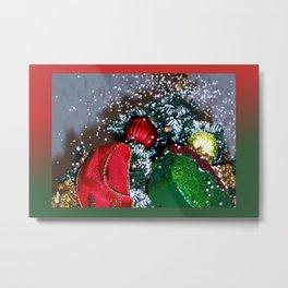 Let it Snow DPGF121225h Metal Print