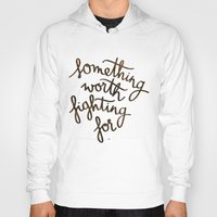 snape Hoodies featuring Something worth fighting for by Earthlightened