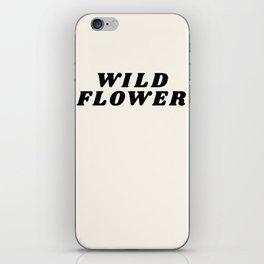 Wild Flower - Retro iPhone Skin