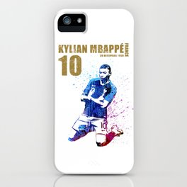 World cup 2018 - france 10 gold iPhone Case