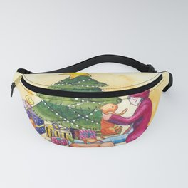 Cozy Christmas Fanny Pack