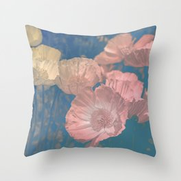 Capricious Tulips IV Throw Pillow