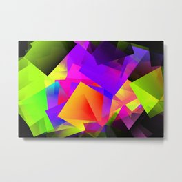 Citynight Metal Print
