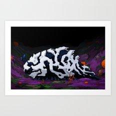 Urban Crawl Art Print