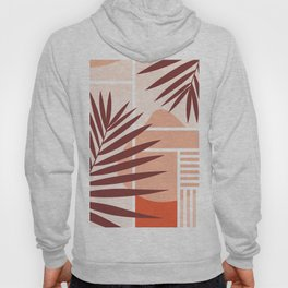 Sunset in Miami / Earth-tones abstraction Hoody