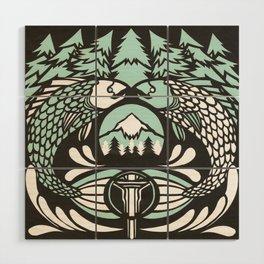 Astrology Northwest: Pisces Wood Wall Art