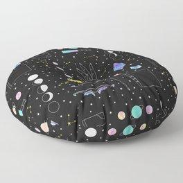 Witch Starter Kit: Astronomy - Illustration Floor Pillow