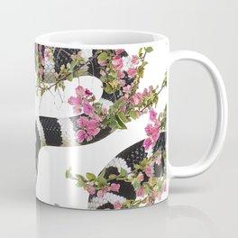 Snake Floral Coffee Mug