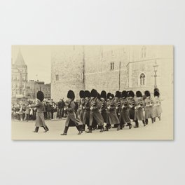 Changing the Guard Windsor Castle Canvas Print
