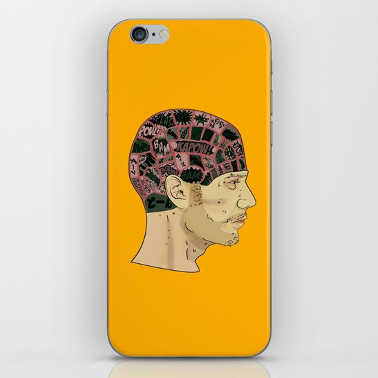 PHRENOLOGY iPhone & iPod Skin