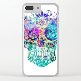 Cinco Distortion Clear iPhone Case