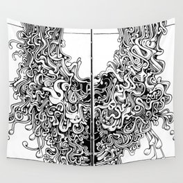 meridial nodes Wall Tapestry