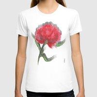 peony T-shirts featuring Peony by Gosia&Helena