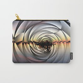 Island Sunset on Abstract Rose Carry-All Pouch