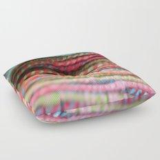 Handspun Yarn Color Pattern by robayre Floor Pillow