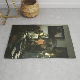 Stolen Art - The Concert by Johannes Vermeer Rug