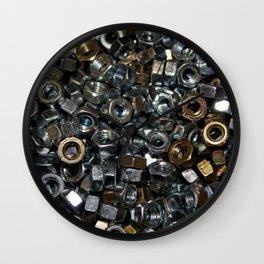 Loose Nuts Wall Clock