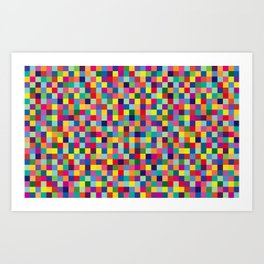 Geometric Pattern #5 Art Print