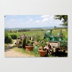 The Wine Salesman Canvas Print