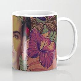 frida in flowers Coffee Mug