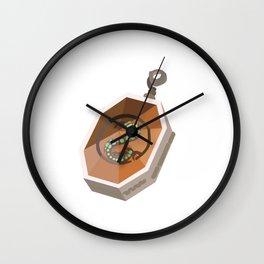 Salazar Slytherin's Locket Wall Clock
