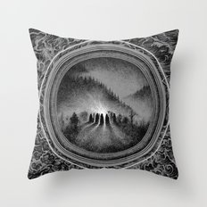 Cremation Throw Pillow