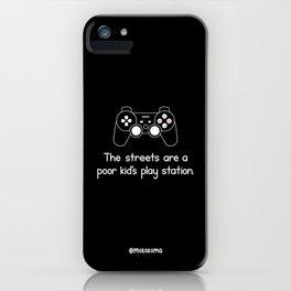 PlayStation (Black) iPhone Case