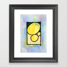 Pedras Framed Art Print