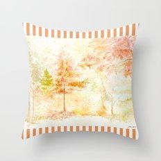 Memories of Autumn Throw Pillow
