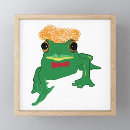 Mr Frog Framed Mini Art Print