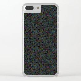 Tourbillon nocturne Clear iPhone Case