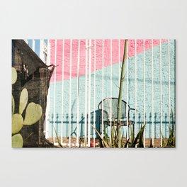 Cactus Chair Canvas Print