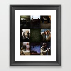 Breaking Bad Final 8 (Ozymandias version) Framed Art Print