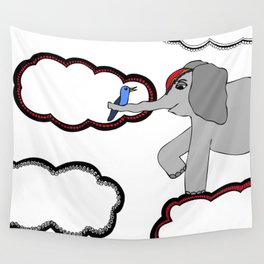 Circus Elephant Wall Tapestry