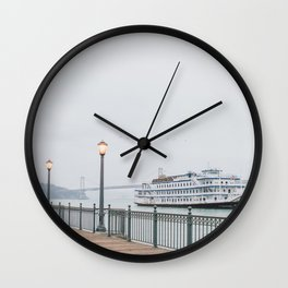 San Francisco Pier Wall Clock