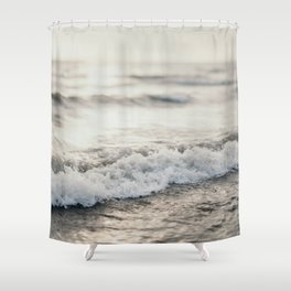 White Water Shower Curtain