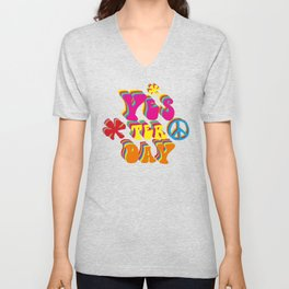 YES ter day Unisex V-Neck