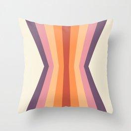 Velvet Morning Reflection Throw Pillow