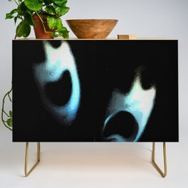comedy and tragedy redux 2018 Credenza