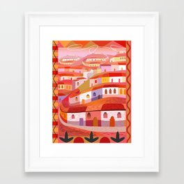 Little Sonora (Vertical) Framed Art Print