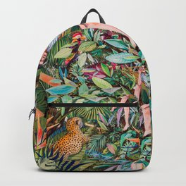 A moment in the jungle Backpack