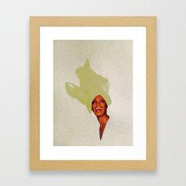 Gold Leaf Framed Art Print