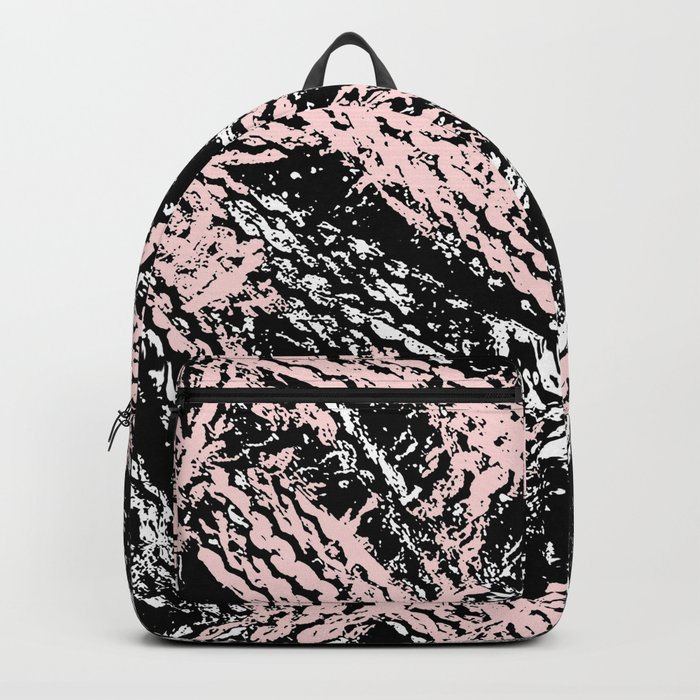 Desert Tracks Pink Backpack