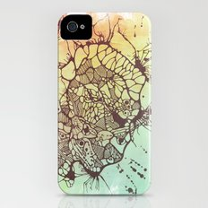 Exploded Skull Slim Case iPhone (4, 4s)