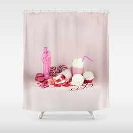 Sweet pink doom - still life Shower Curtain
