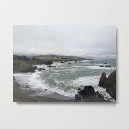 Coastal Crash Course Metal Print