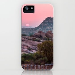 Jungle book: sunrise iPhone Case